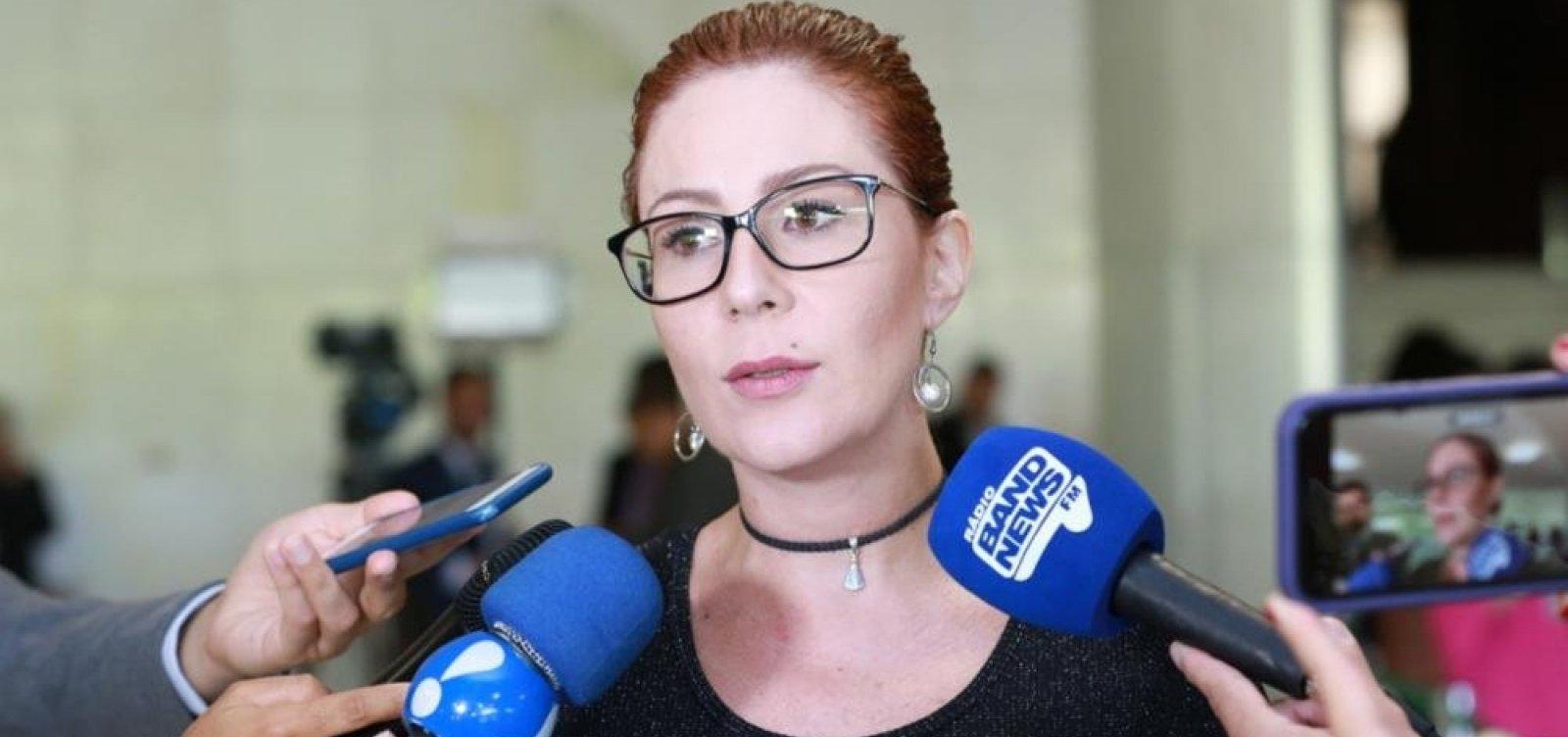 [Zambelli fala em operação da PF e é acusada de ter informação privilegiada]