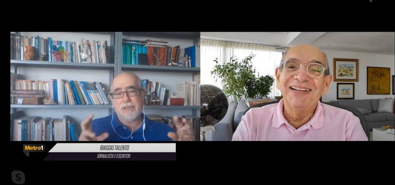 [Biaggio cita pesquisa para 'Economia de Salvação' e lembra entrevista de Bolsonaro em Salvador]