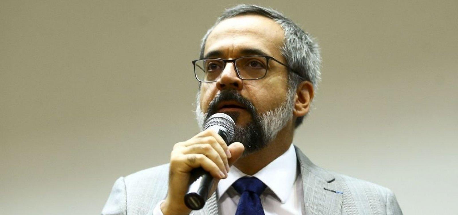 [Moraes determina que Weintraub seja ouvido pela PF para explicar fala em reunião ministerial]