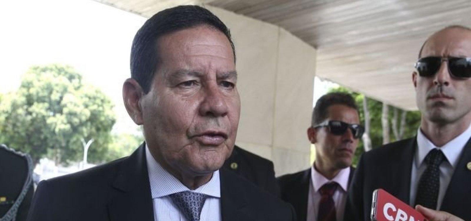 [Esteira que governo pretende comprar no valor de R$ 44 mil é de 'excelente nível', diz Mourão ]