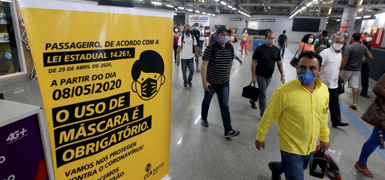 [Bahia determina suspensão de serviços não essenciais privados nesta quinta e sexta]