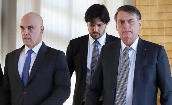 [Bolsonaro diz que operação da PF contra aliados é 'sinal de algo grave acontecendo com a democracia']