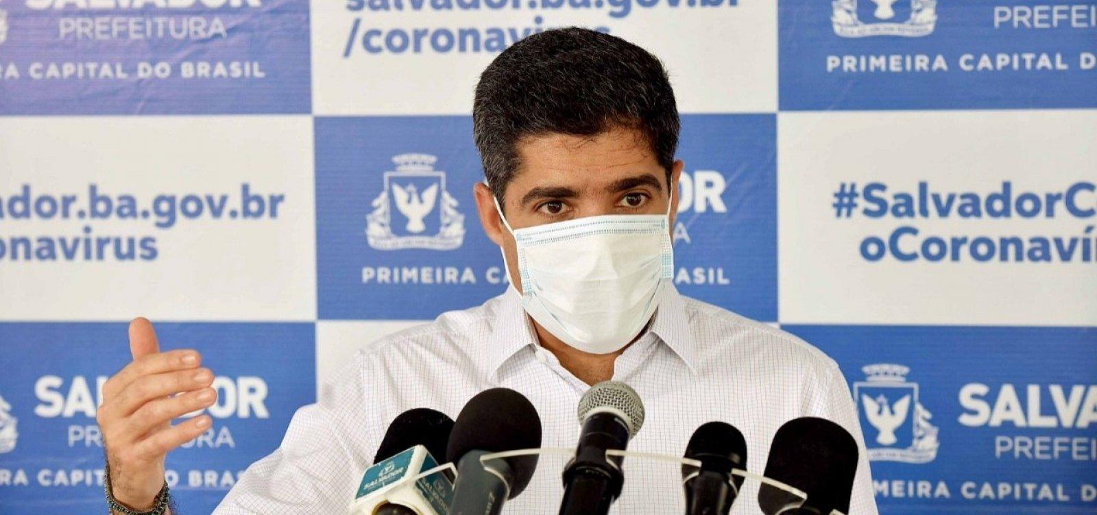 [Coronavírus: ACM Neto anuncia medidas restritivas em Pernambués]