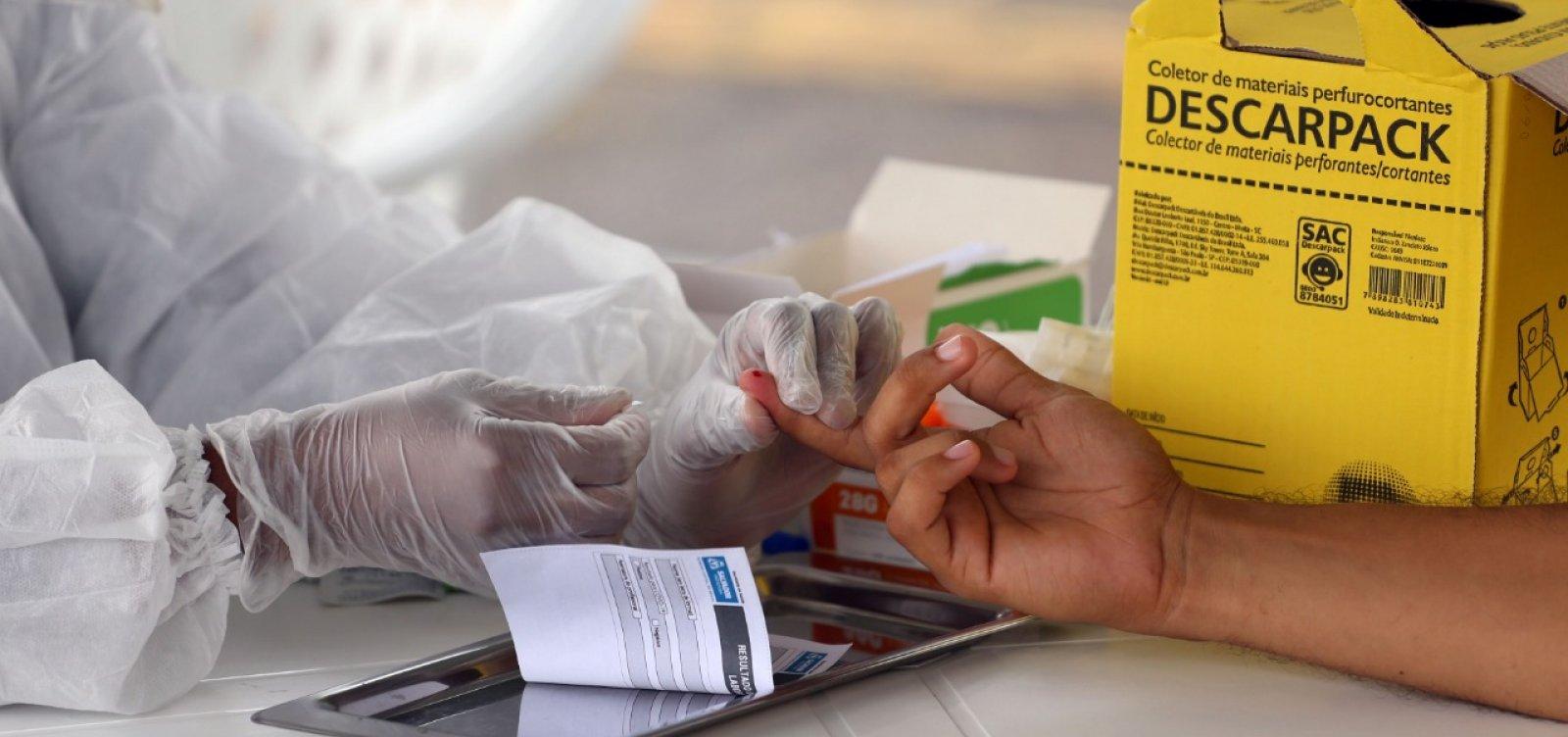 [Coronavírus: Bahia registra 570 mortes e 15.963 casos confirmados]
