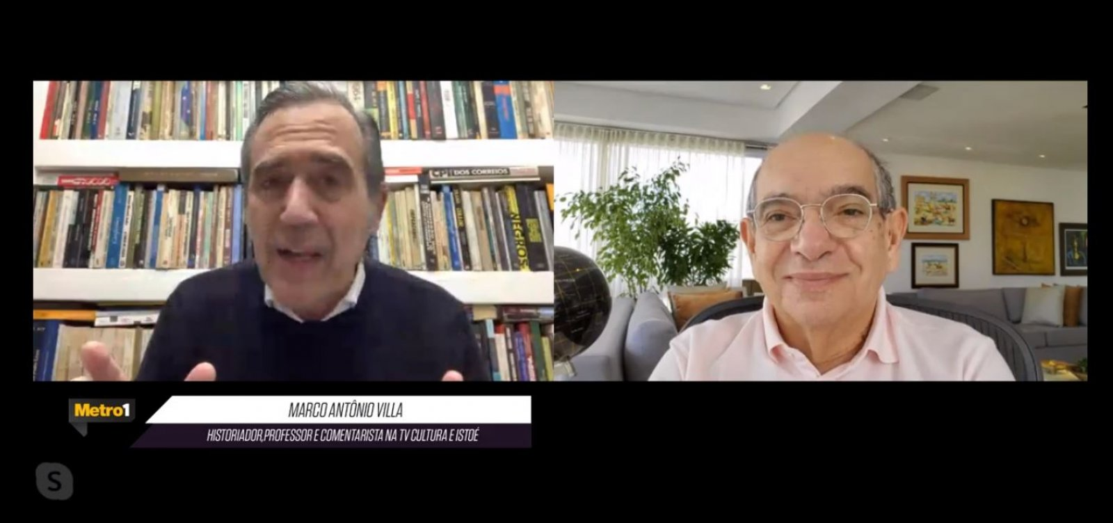 [Marco Antonio Villa cita caminhos para depor Bolsonaro e fala em prisão: 'Termina em Bangu 8']