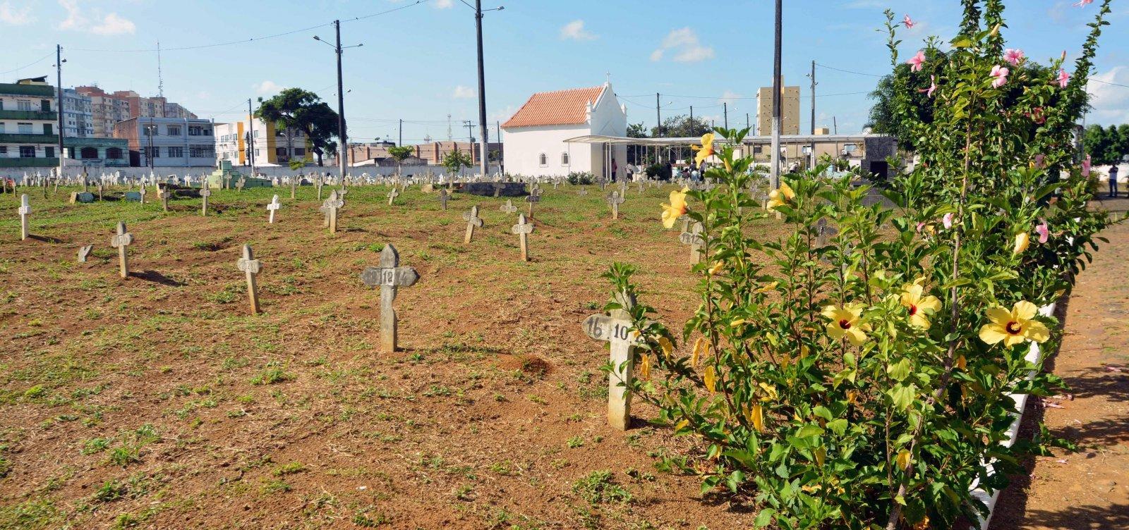 [Prefeitura registra alta de sepultamentos em cemitérios municipais por conta da Covid-19]