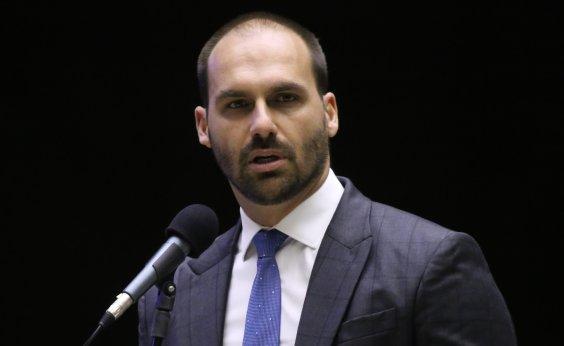 [Ministro do STF envia à PGR comunicação de crime atribuído a Eduardo Bolsonaro]