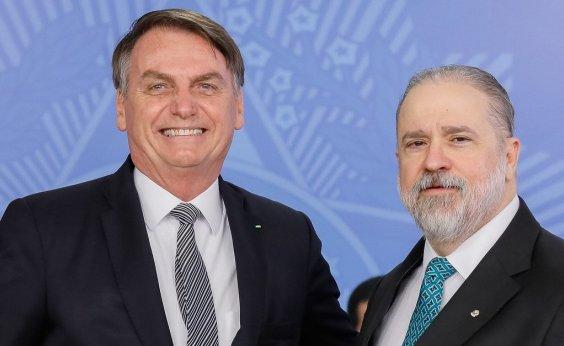 [Aras diz que citação por Bolsonaro de seu nome para vaga no STF causa 'desconforto']