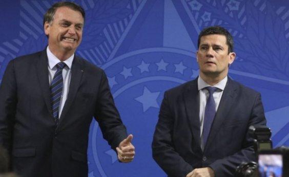 [Moro diz que Bolsonaro queria 'promover rebelião armada contra governadores e prefeitos']