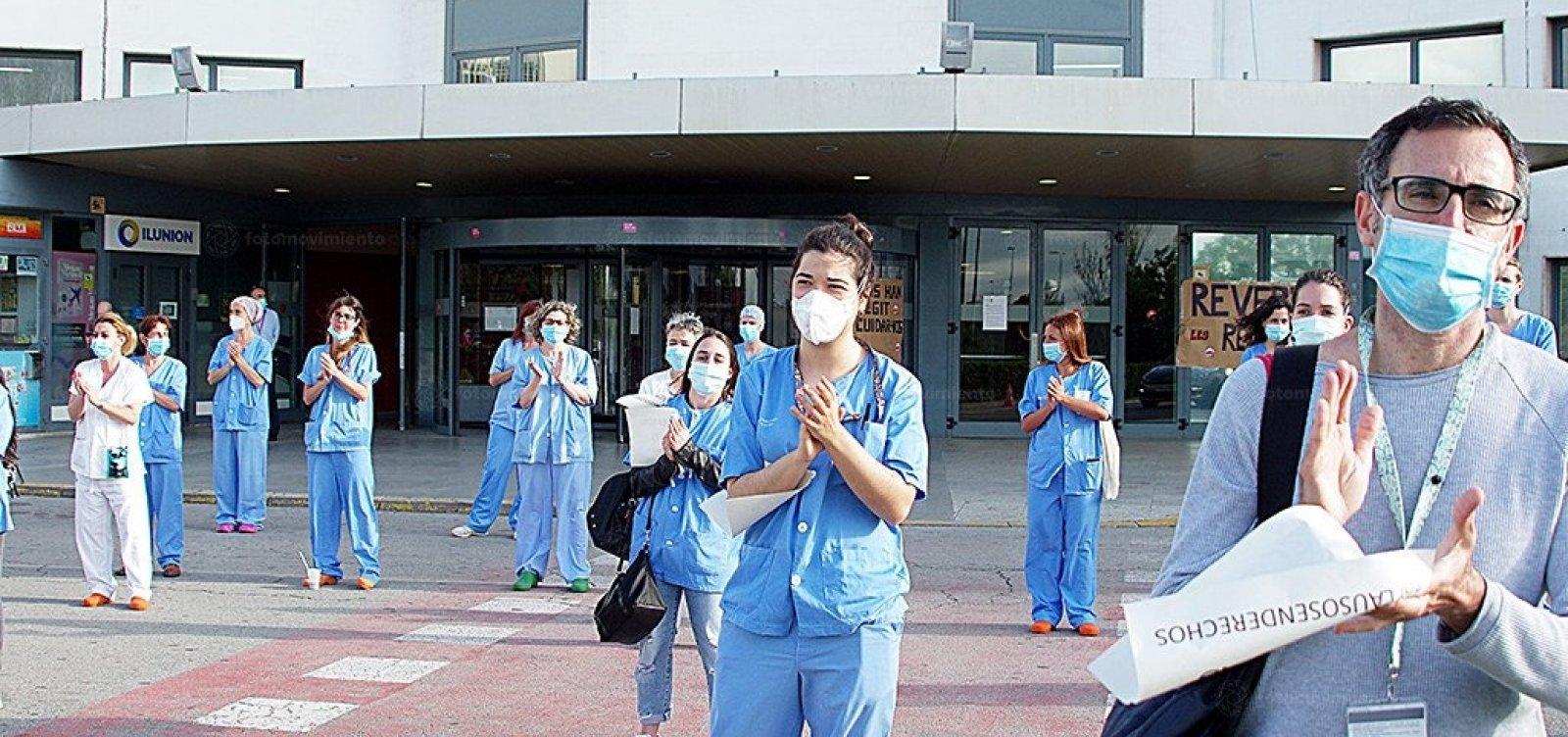 [Espanha não registra novas mortes por coronavírus desde domingo]