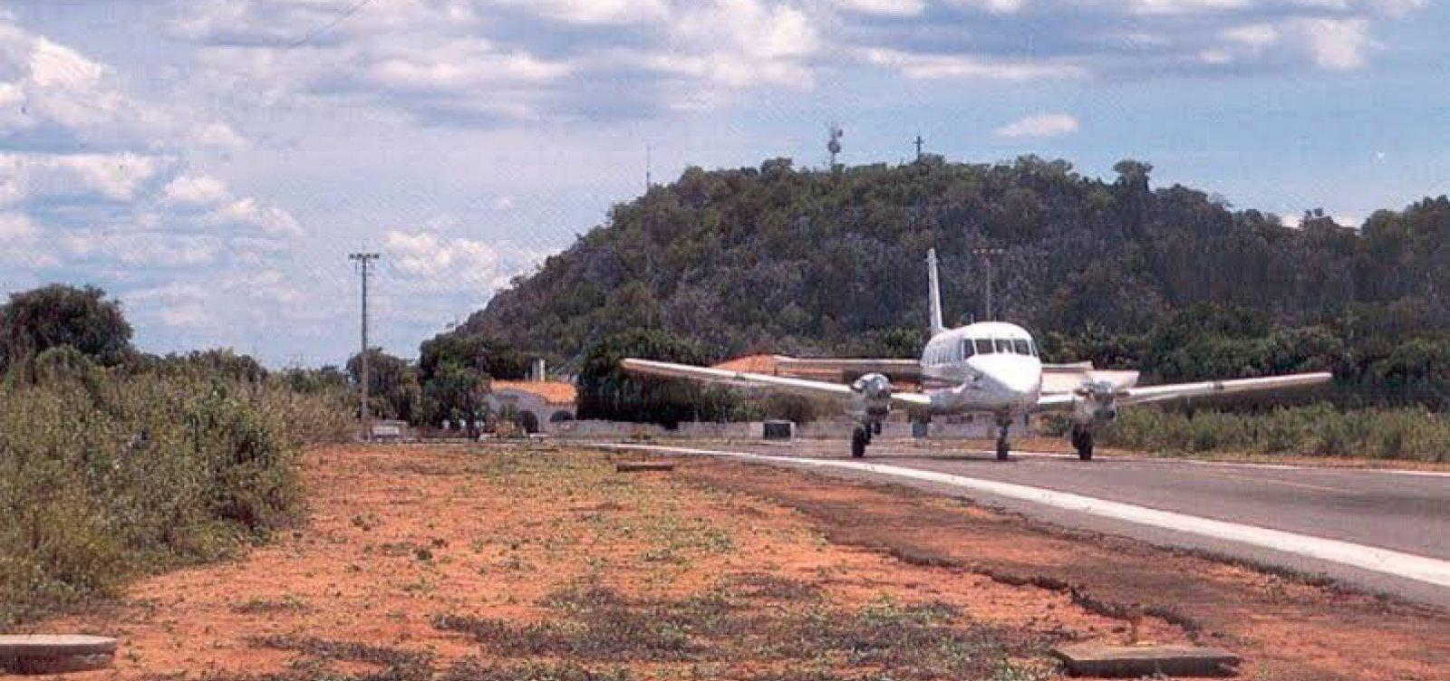 [Governo divulga resultado de licitação para construir novo aeroporto de Bom Jesus da Lapa]