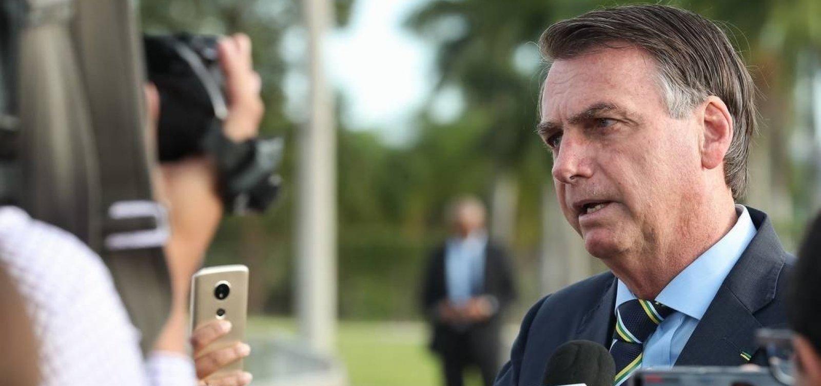 [Bolsonaro diz que vazamento de dados pessoais é 'intimidação' e promete 'medidas legais']