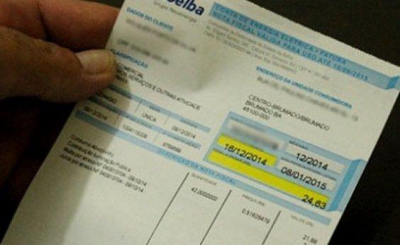 [MP-BA pede que Coelba faça restituição em dobro de cobrança indevida de ICMS a consumidores]