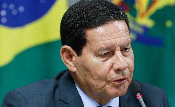 [Mourão critica Celso de Mello e manifestações contra governo Bolsonaro]
