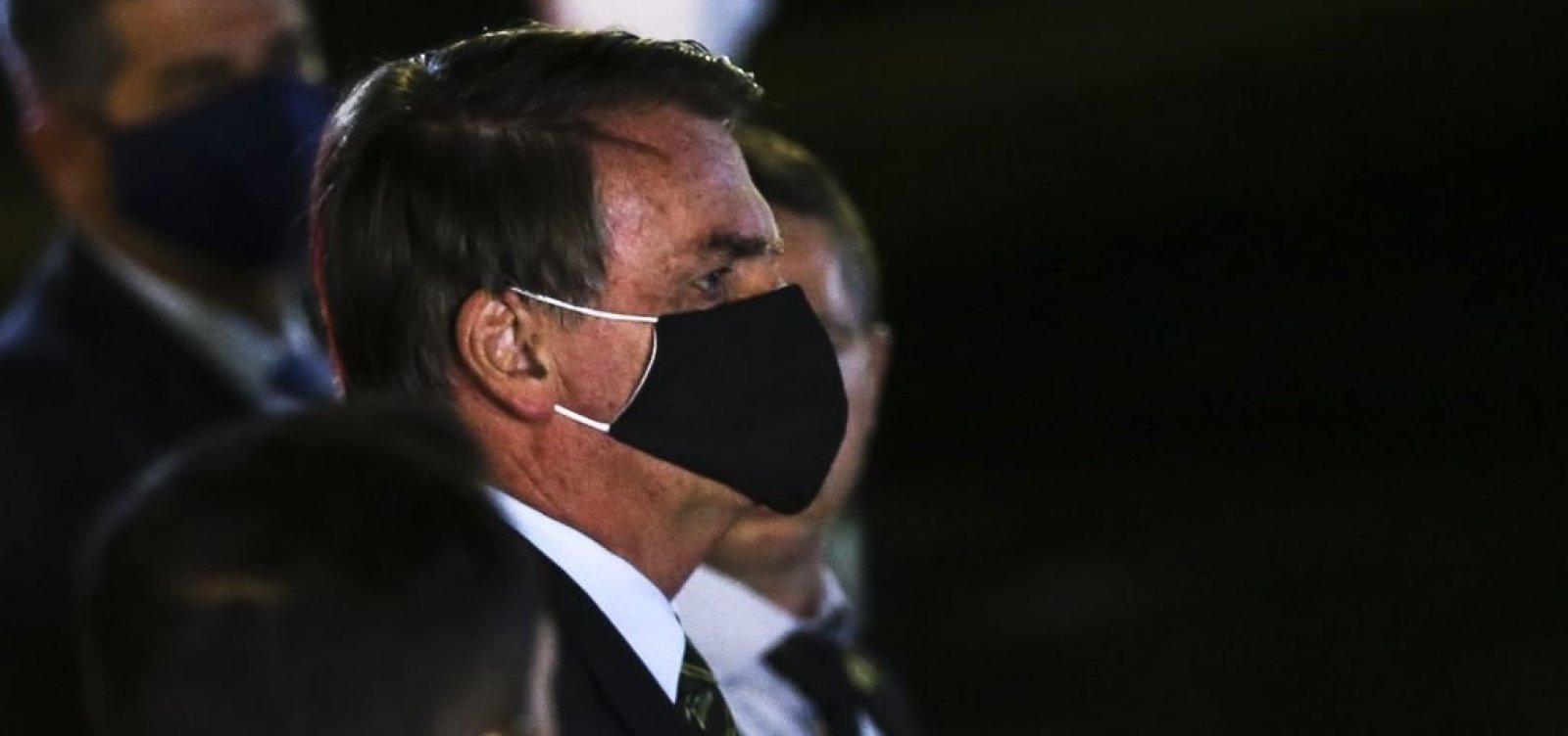 [Bolsonaro diz não estar preocupado em depor à PF no inquérito das fake news]
