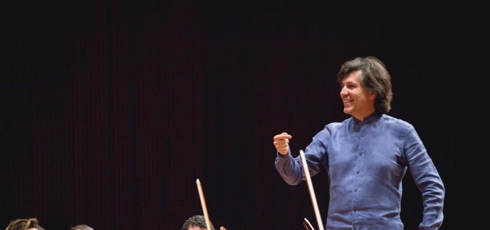 [Diretor do Neojiba, maestro Ricardo Castro participa de transmissão online 'Piano e Pandemia']