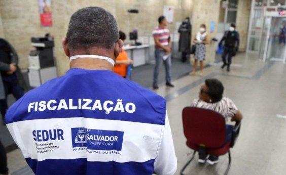[Coronavírus: Sedur interdita 29 estabelecimentos de Salvador nesta terça-feira]