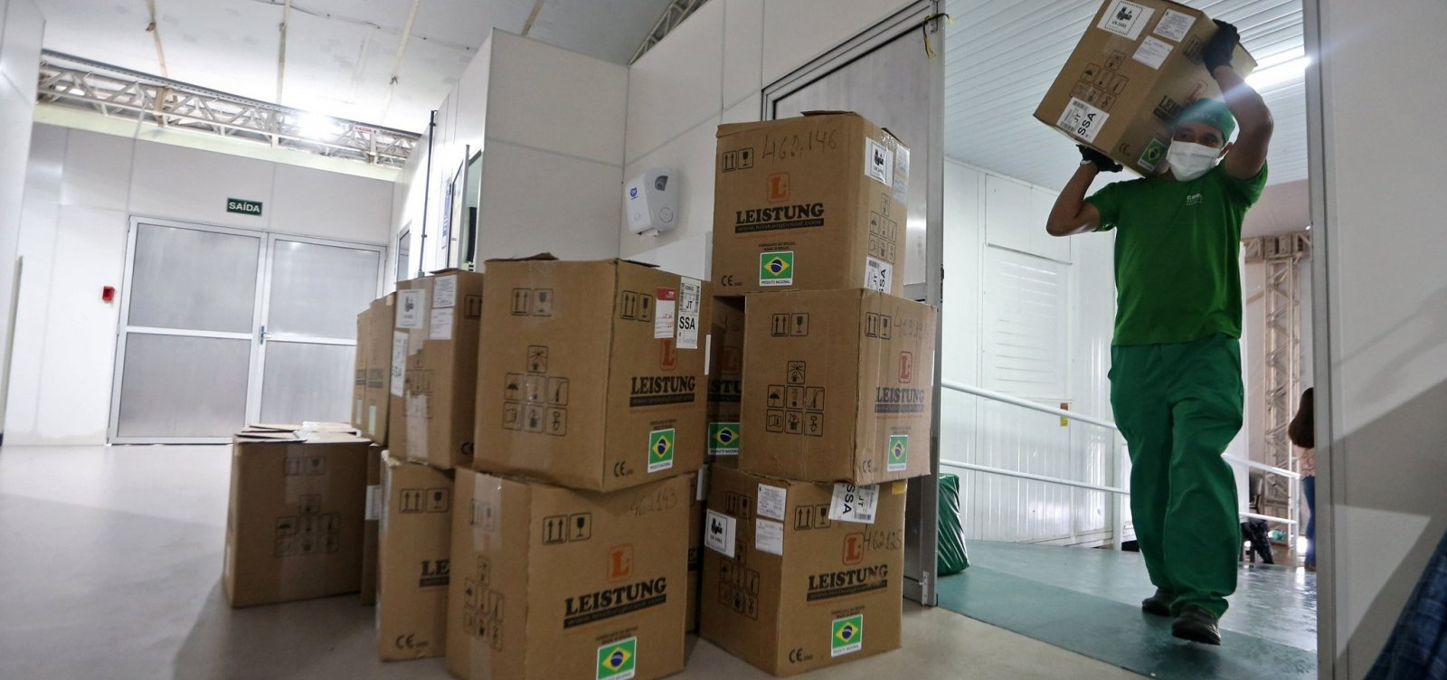 [Itabuna recebe novos respiradores e passará a contar com mais 20 leitos de UTI]