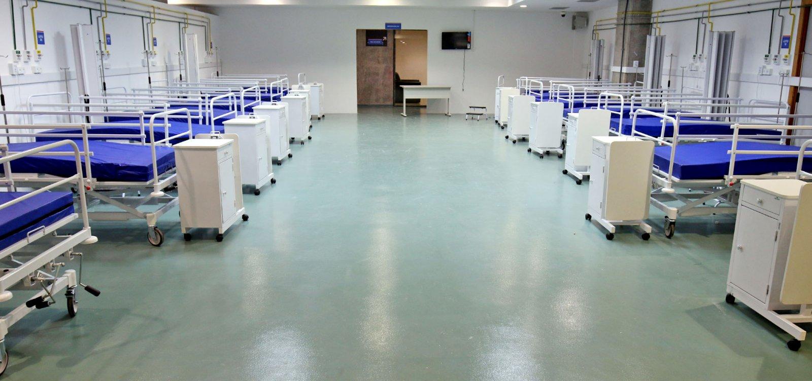 [Covid-19: Hospital da Arena Fonte Nova começa a receber pacientes nesta sexta-feira]