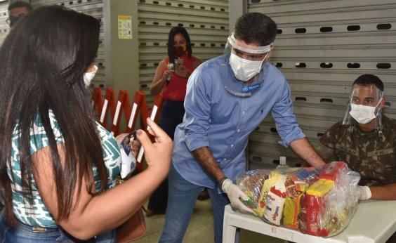 [Termina nesta quinta entrega de junho de cestas básicas a famílias carentes de Salvador]