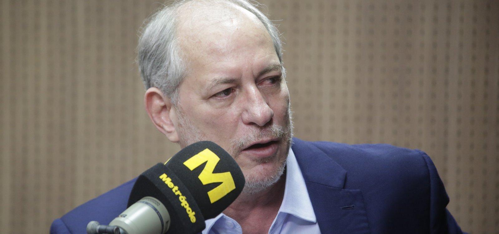 [Ciro diz que Lula desconhece própria história: 'Virou um megalomaníaco e não está nada bem']
