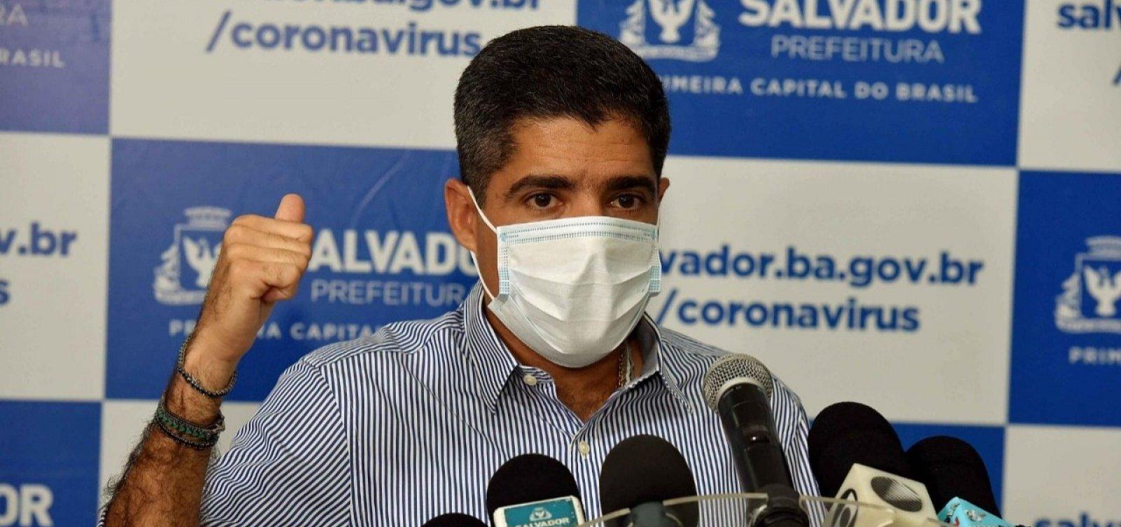 [ACM Neto diz que situação crítica do Brasil com coronavírus se deve à postura de Bolsonaro]