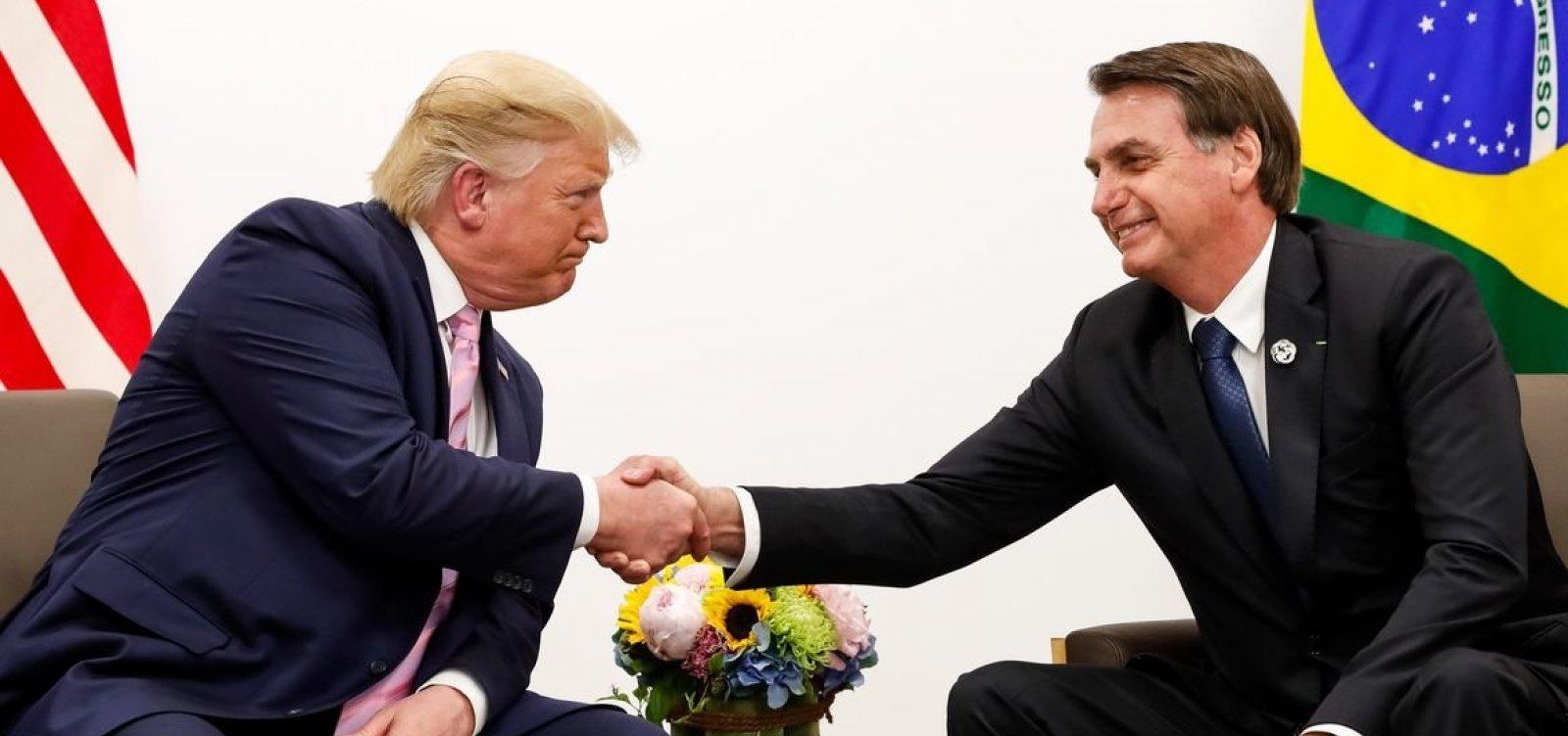 [Bolsonaro minimiza críticas de Trump sobre Brasil na pandemia: 'É meu amigo e irmão']