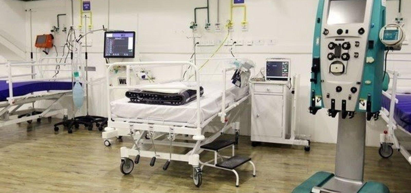 [Salvador tem aumento em ocupação de leitos mesmo após abertura de hospital na Fonte Nova]