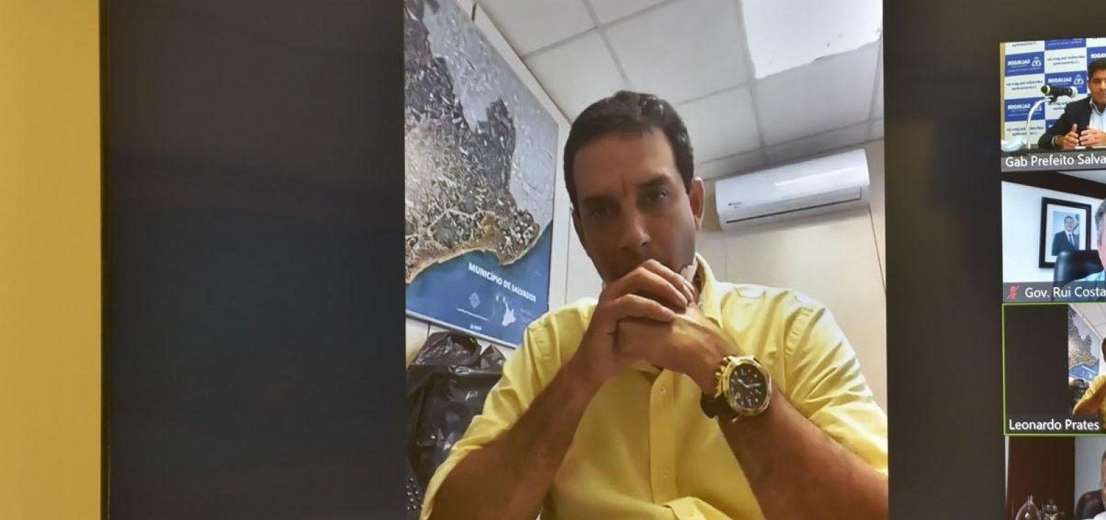 [Secretário de Saúde de Salvador prevê saturação de leitos de UTI para domingo]