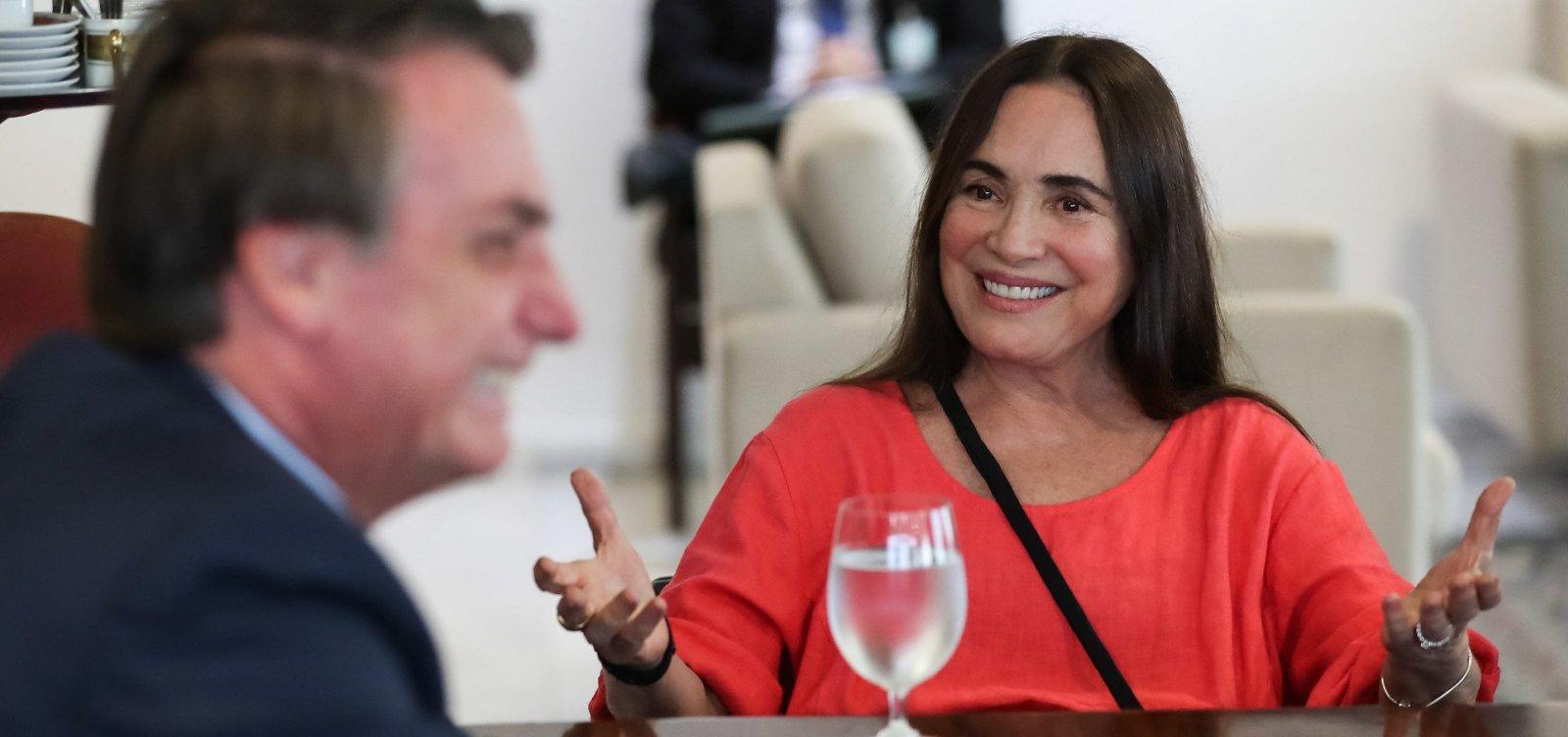 [Governo publica exoneração de Regina Duarte da secretaria de Cultura]