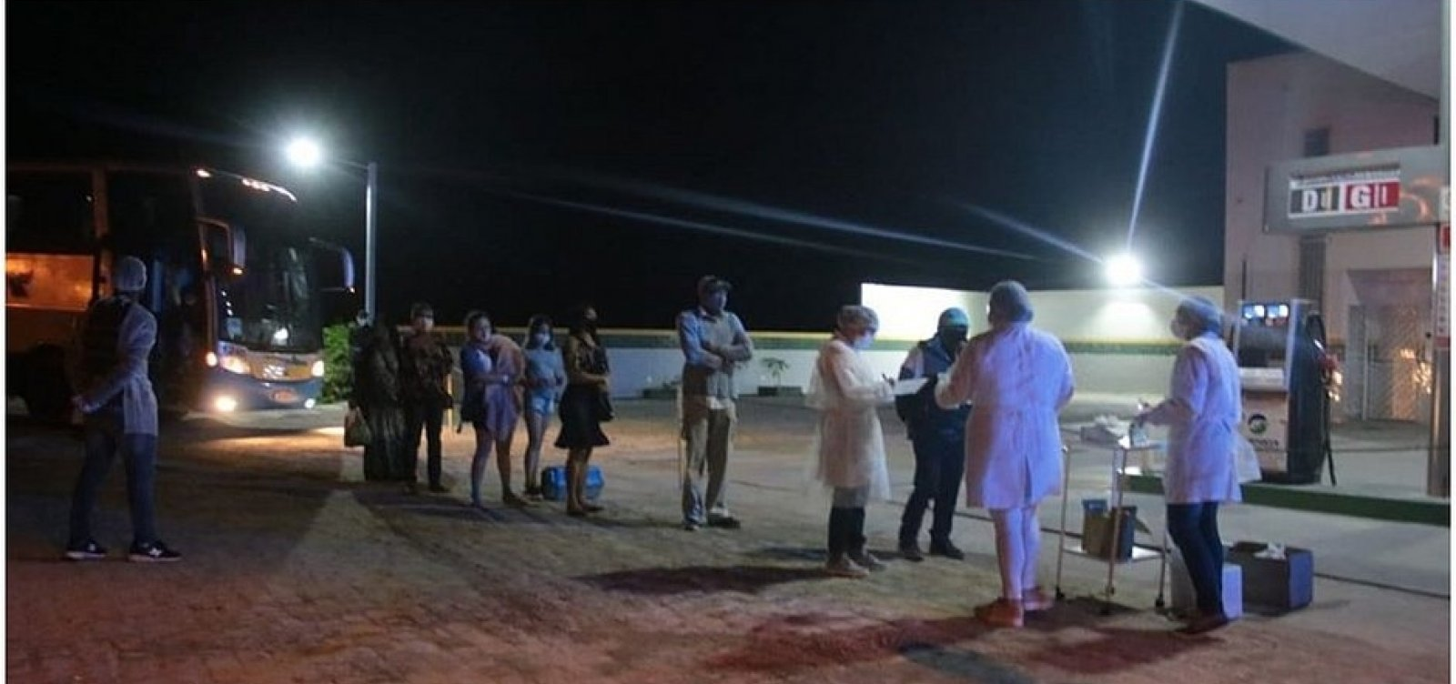 [Ônibus clandestino de São Paulo entra na Bahia com 10 infectados pelo coronavírus]