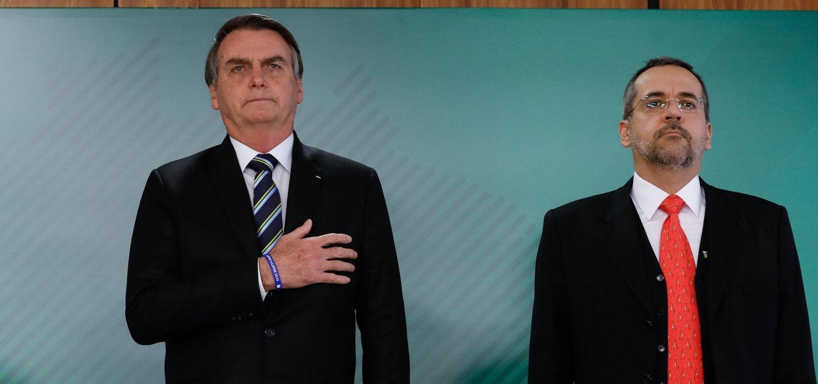 [Bolsonaro autoriza MEC a escolher reitores temporários de universidades durante pandemia]