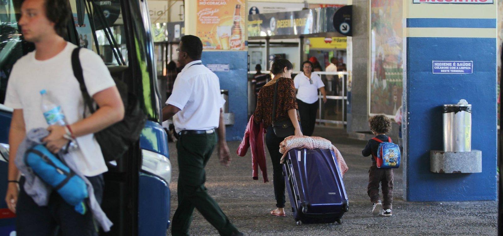 [Bahia tem mais cinco cidades com transporte suspenso; total chega a 308]