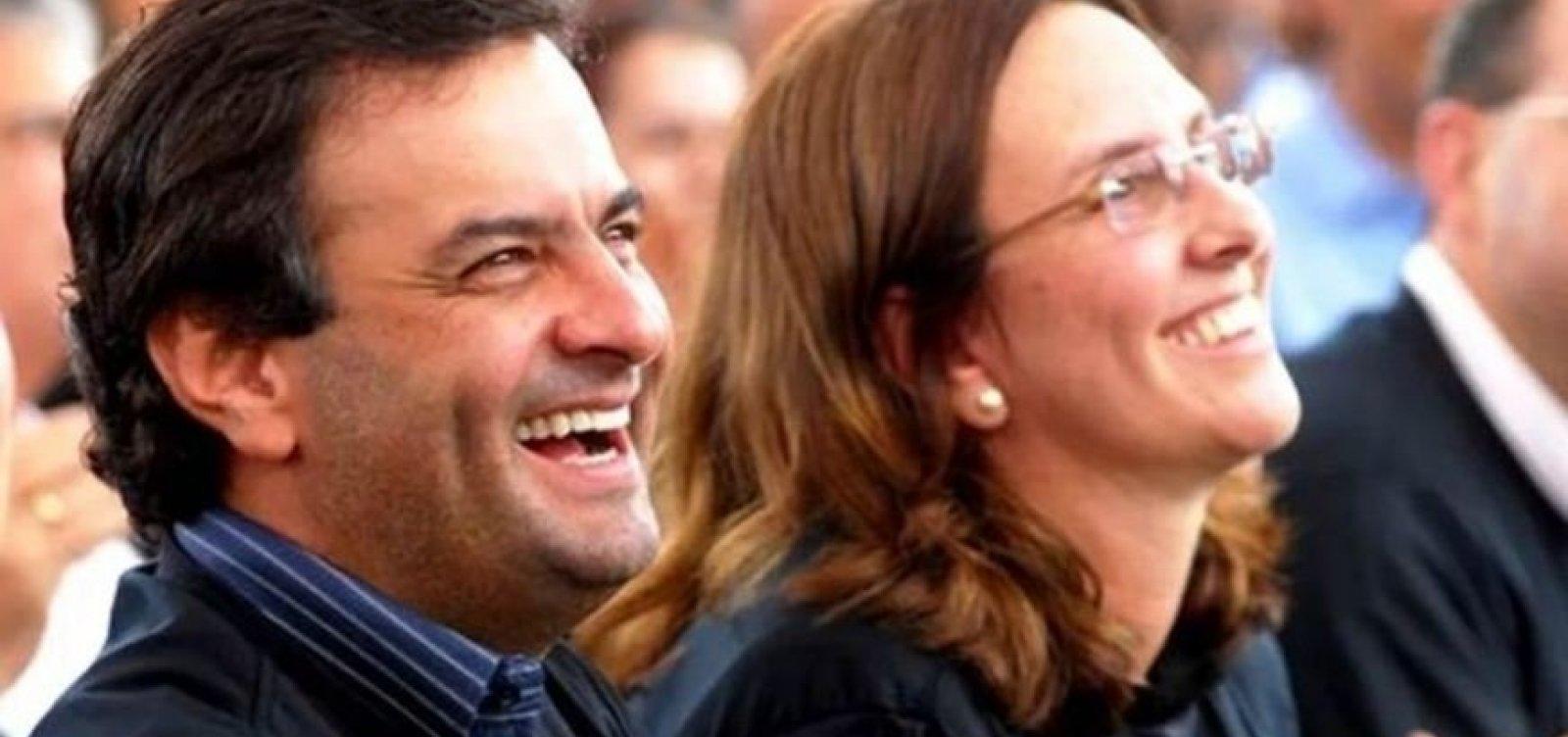 [Irmã de Aécio, Andrea Neves é indiciada sob suspeita de crime relacionado a vazamentos na PF]