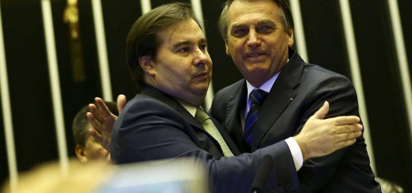 [Rodrigo Maia diz que não é hora de pensar em impeachment e tema exige equilíbrio]