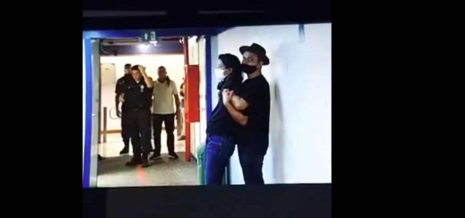 [Homem invade TV Globo e faz repórter refém; veja vídeo]
