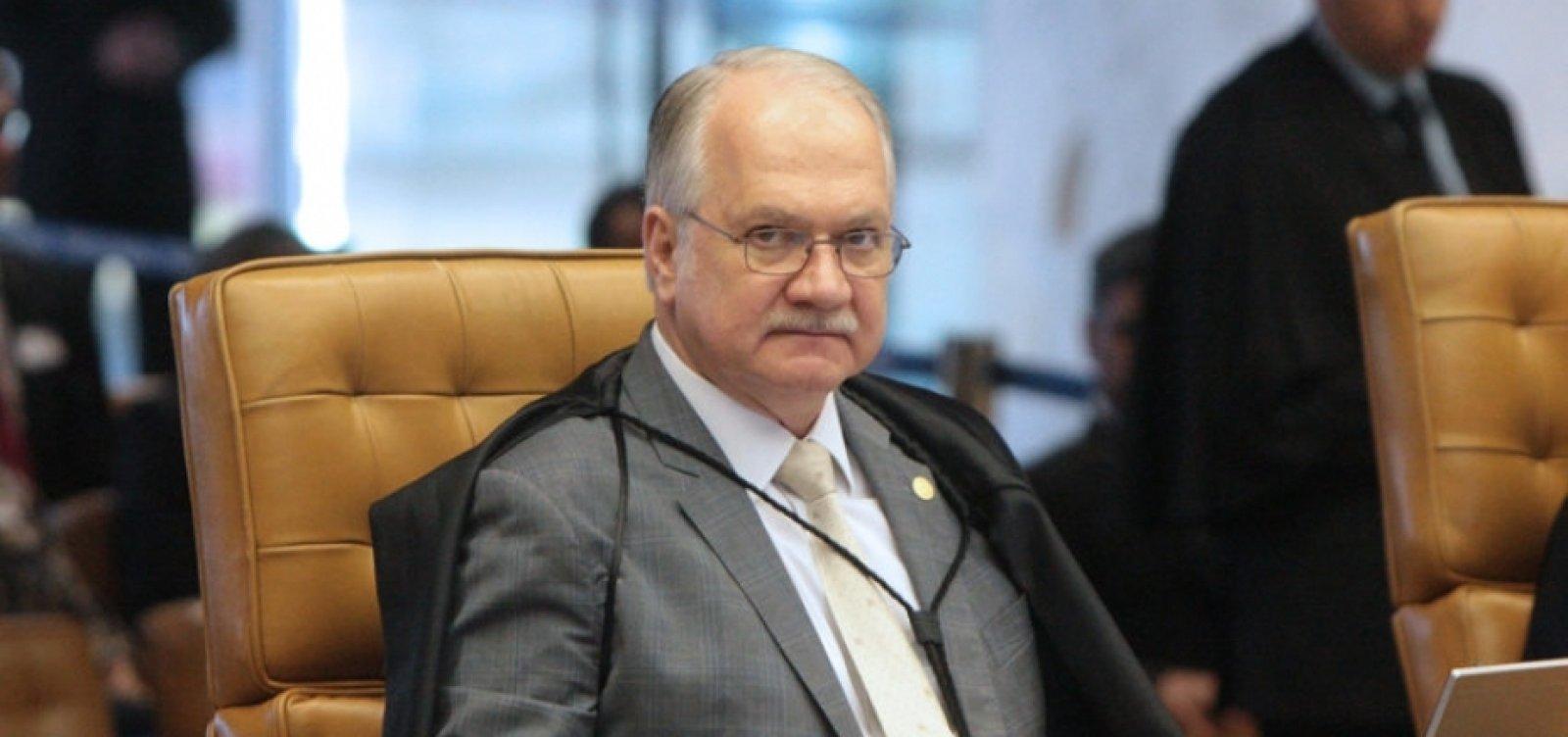 [Relator Edson Fachin vota pela validade do inquérito das fake news]
