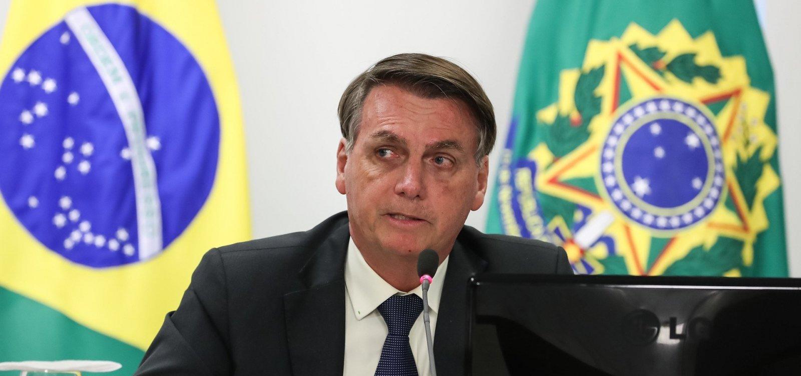 [Bolsonaro pede que apoiadores invadam hospitais e filmem leitos vazios em hospitais]