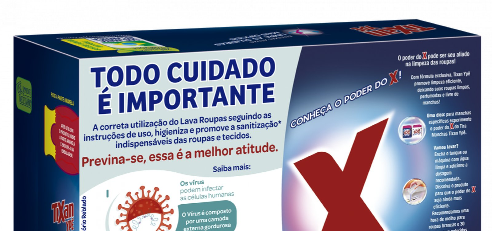 [Justiça suspende lote de sabão em pó por usar combate ao coronavírus em anúncio]