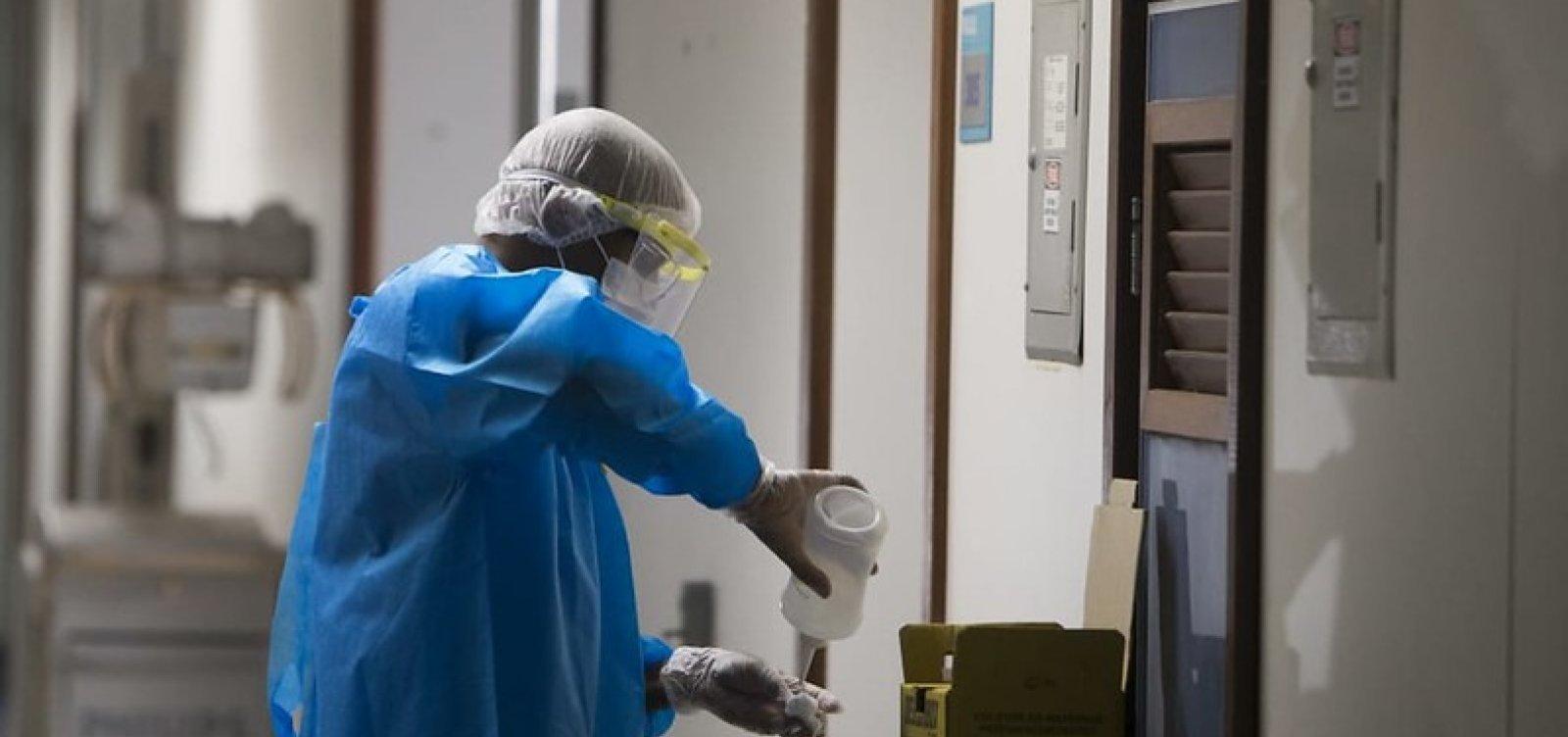 [Bahia registra mais 30 mortes por coronavírus em 24 horas e soma 1.069 casos no estado]