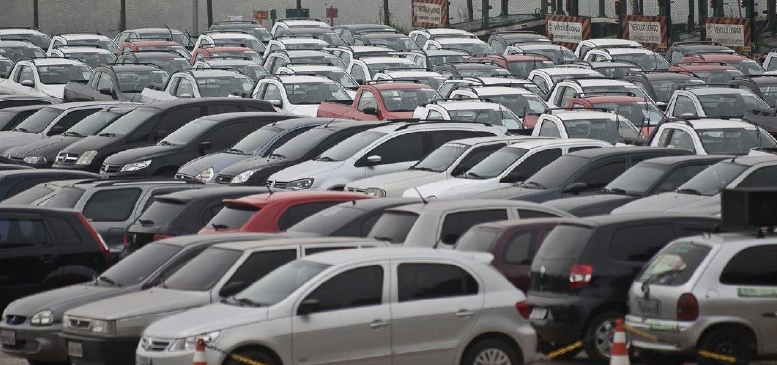 [Frota de veículos envelhece há seis anos consecutivos no Brasil]