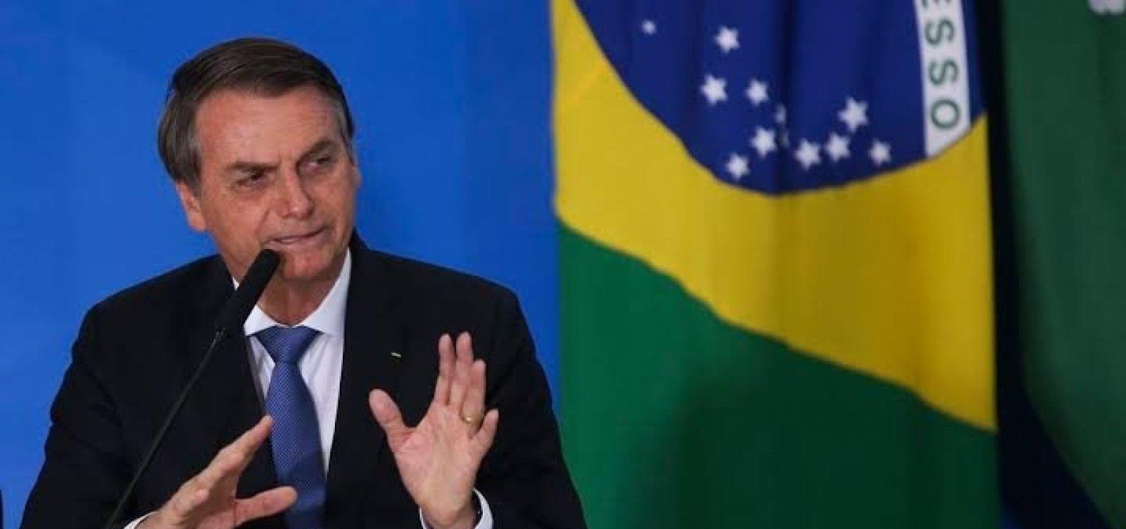 [Bolsonaro diz que inquérito das fake news do STF está 'à margem da legislação']
