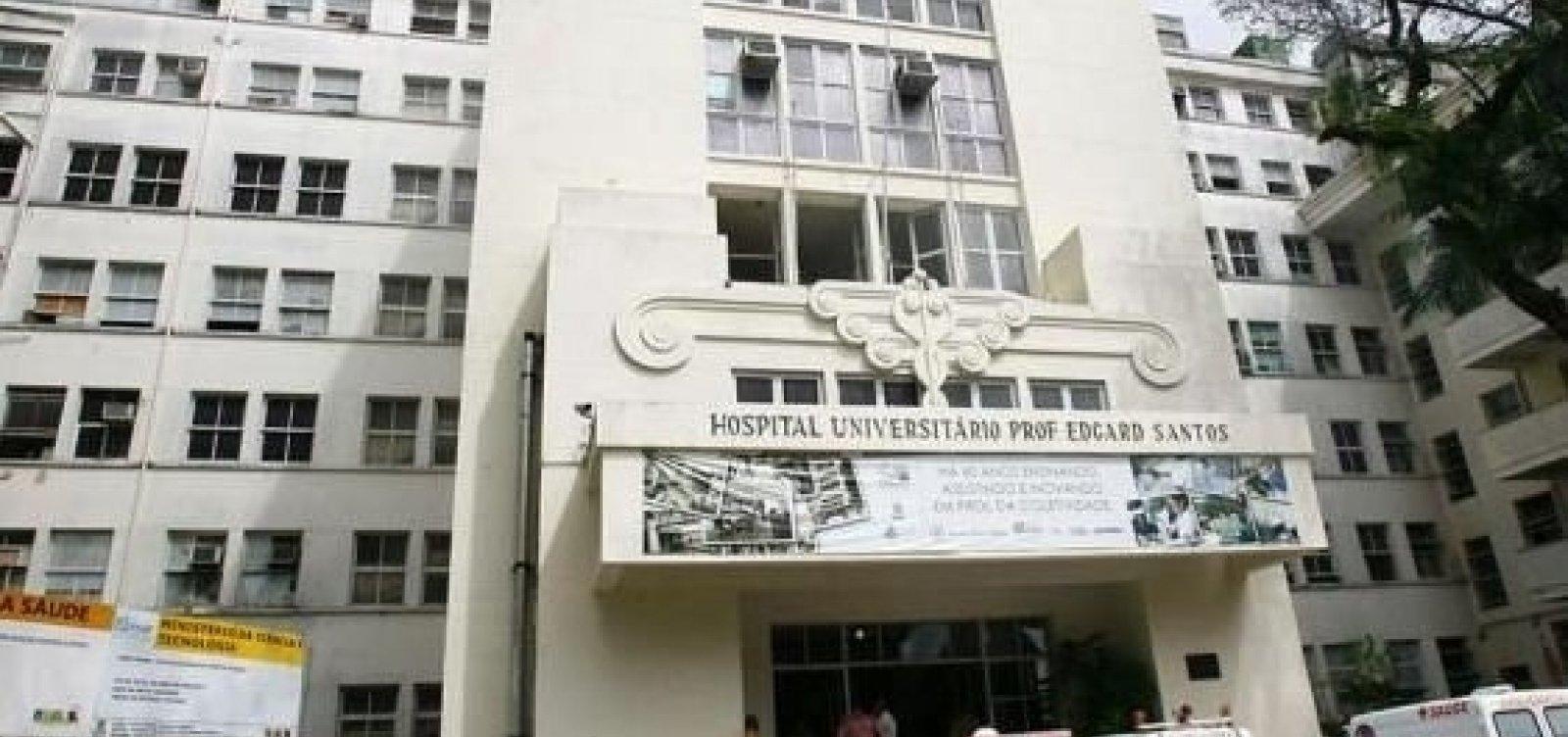 [Mais de 100 profissionais do Hospital Universitário da Ufba tiveram diagnóstico de Covid-19]