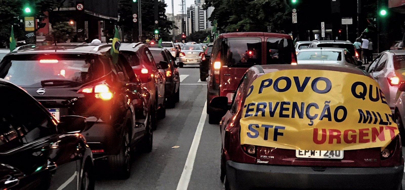 [Polícia Federal cumpre 21 mandados em inquérito que investiga atos contra democracia]