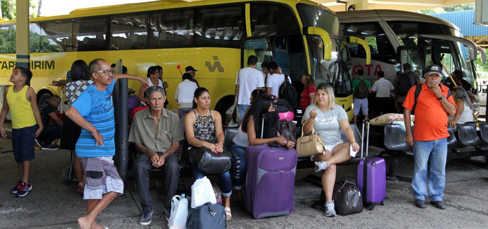 [Mais 13 municípios têm transporte suspenso na Bahia; total chega a 325]