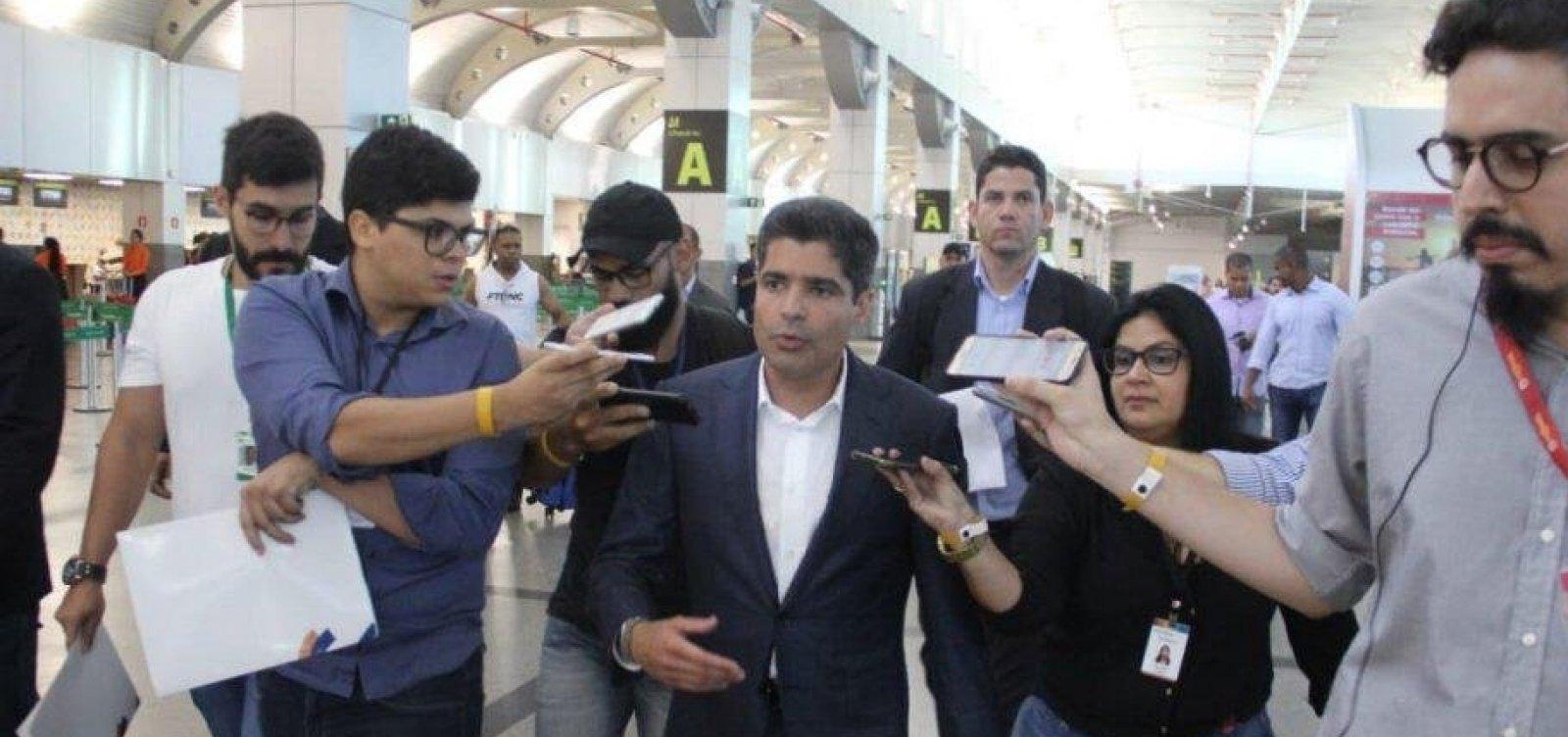 [ACM Neto vai novamente a Brasília e terá reunião com ministro do DEM]