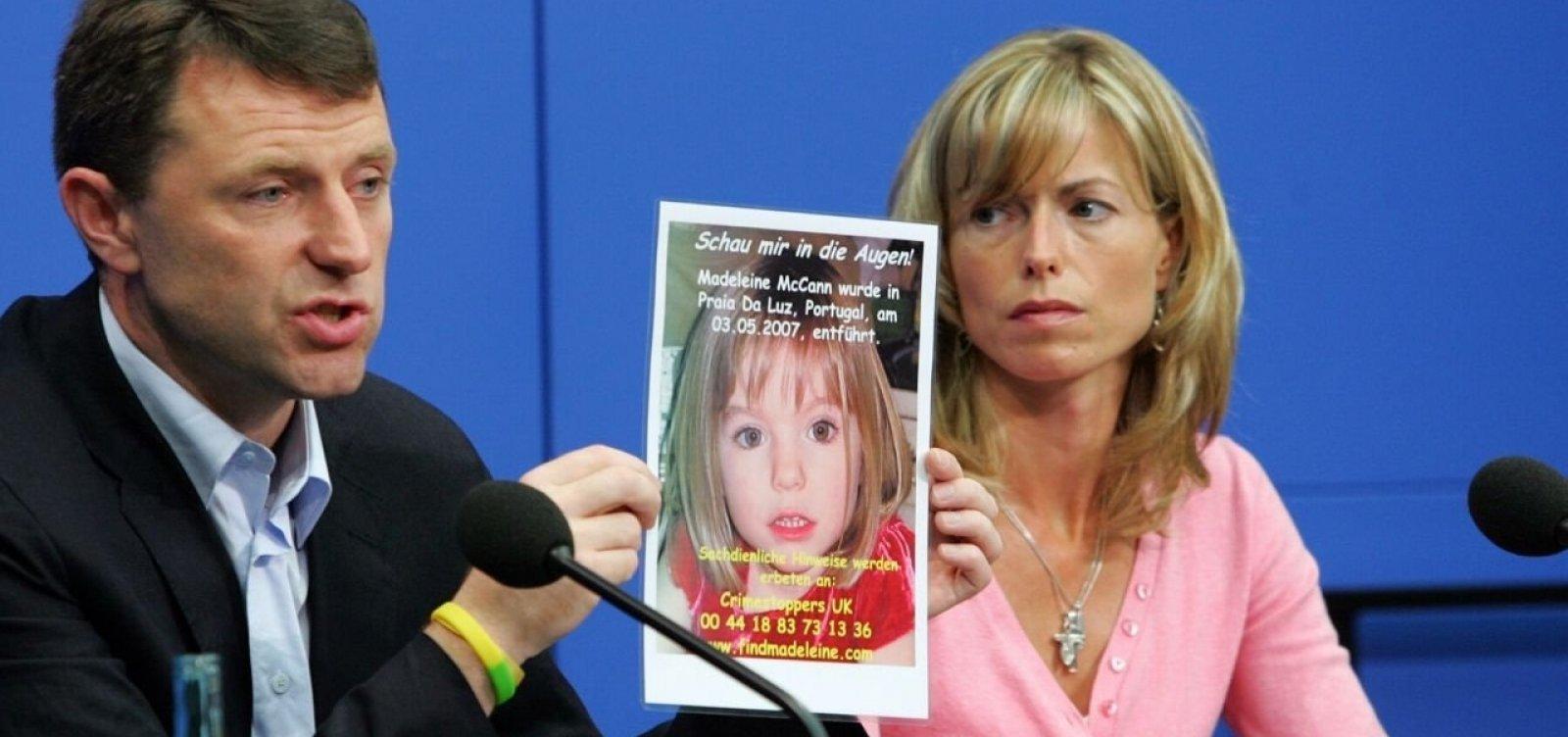 [Caso Madeleine McCann: promotoria diz que há 'prova concreta' de que alemão matou menina]
