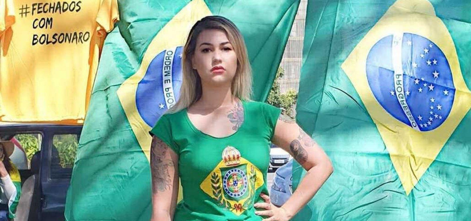 [MPF denuncia Sara Winter por injúria e ameaça contra Alexandre de Moraes]
