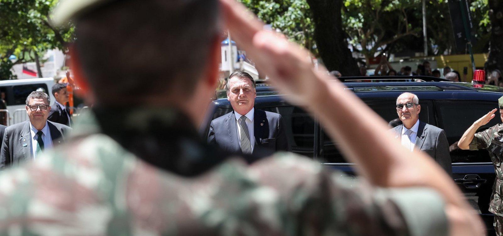 [TCU decide levantar número de militares no governo Bolsonaro]