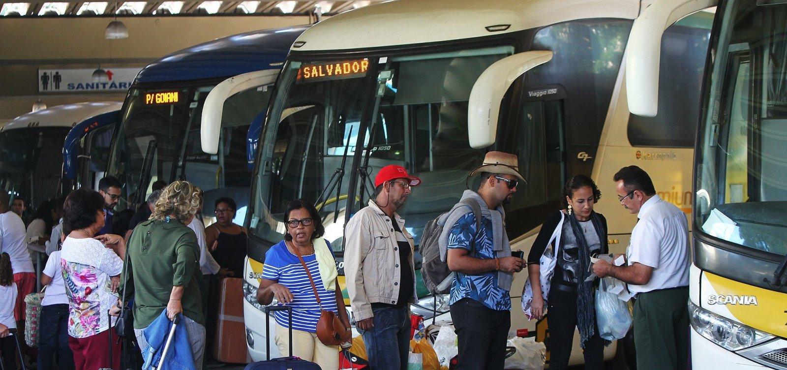 [Número de municípios com transporte suspenso na Bahia chega a 316]